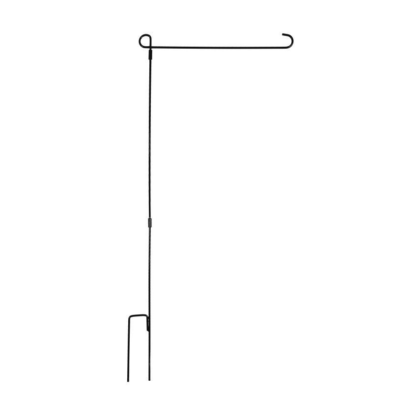Garden-Outdoor-Iron-Flag-Pole-Yard-Flagpole-Stand-Holder-Banner-Bracket-Rack-USA thumbnail 10