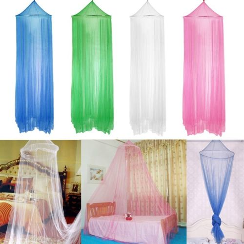 Round Dome Lace Bed Mosquito Netting Mesh Canopy Princess El
